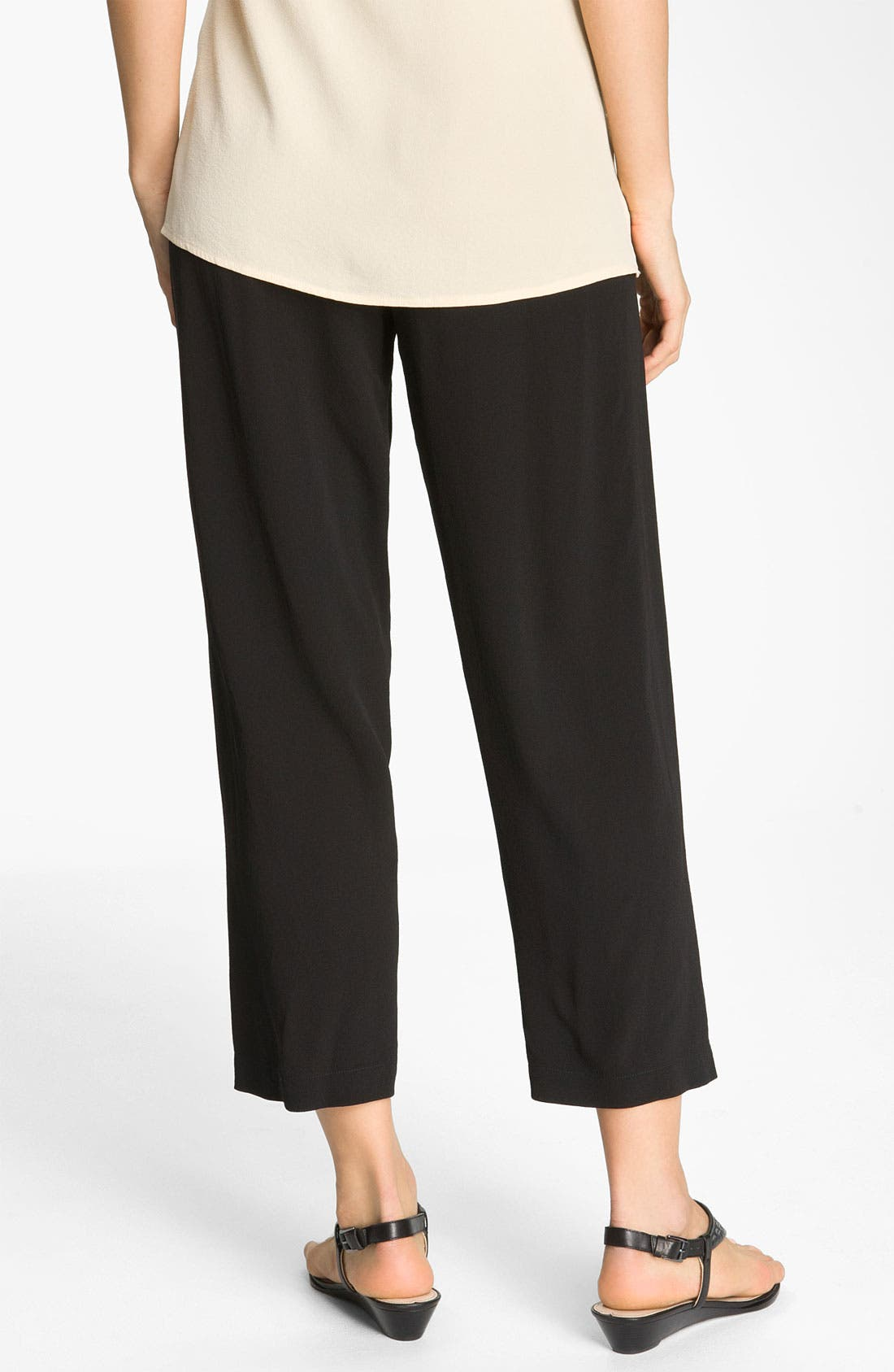 Alternate Image 2  - Citron Silk Crop Pants