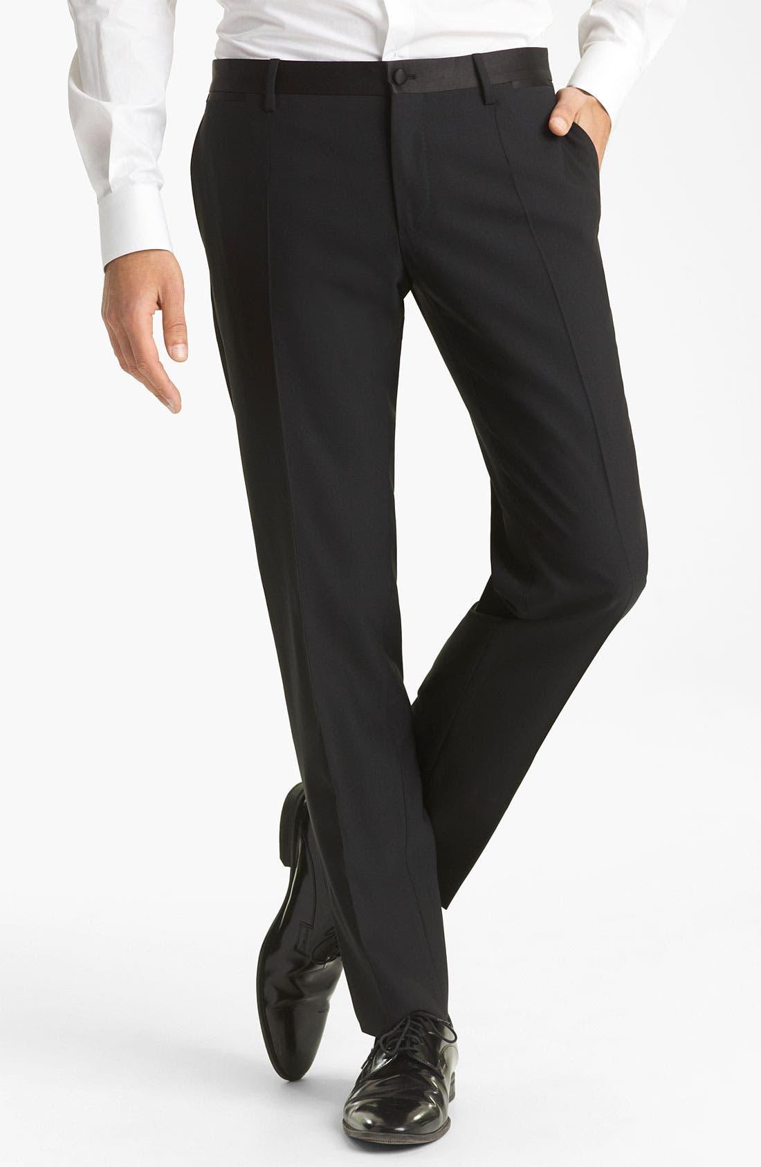 Alternate Image 6  - Dolce&Gabbana Velvet Trimmed Designer Tuxedo