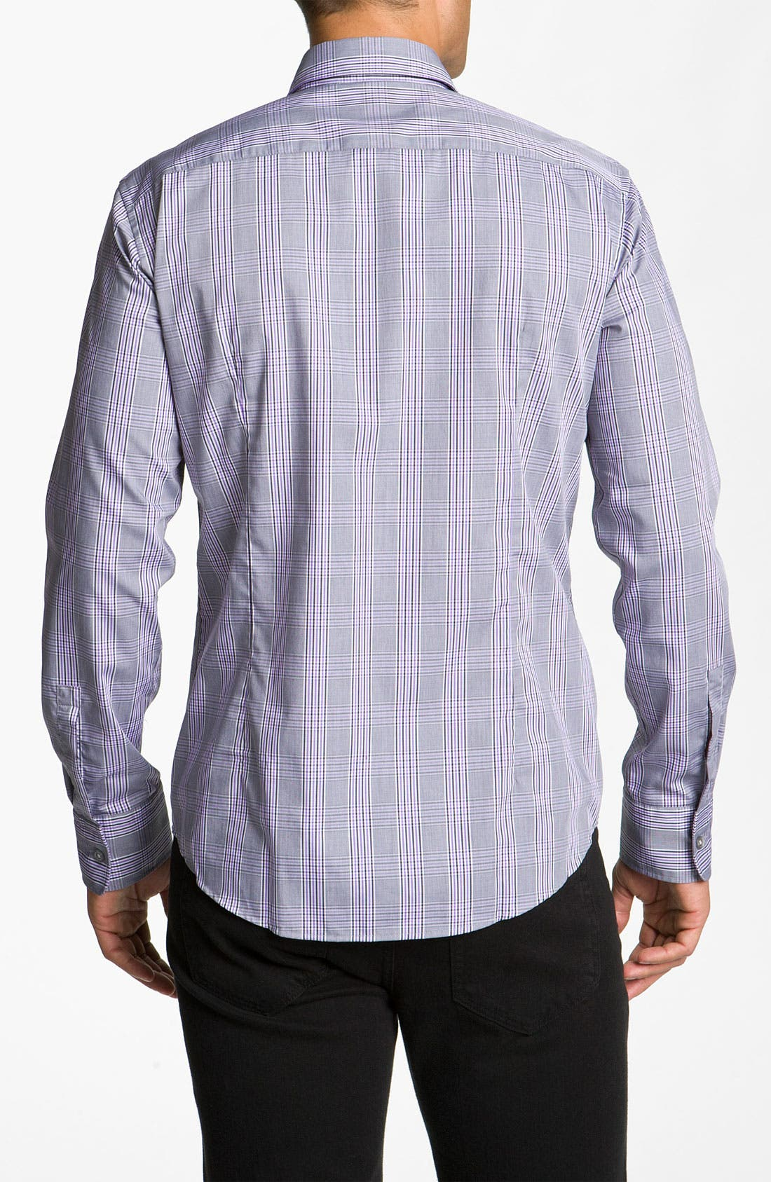 Alternate Image 2  - BOSS Black 'Ronny' Slim Fit Sport Shirt