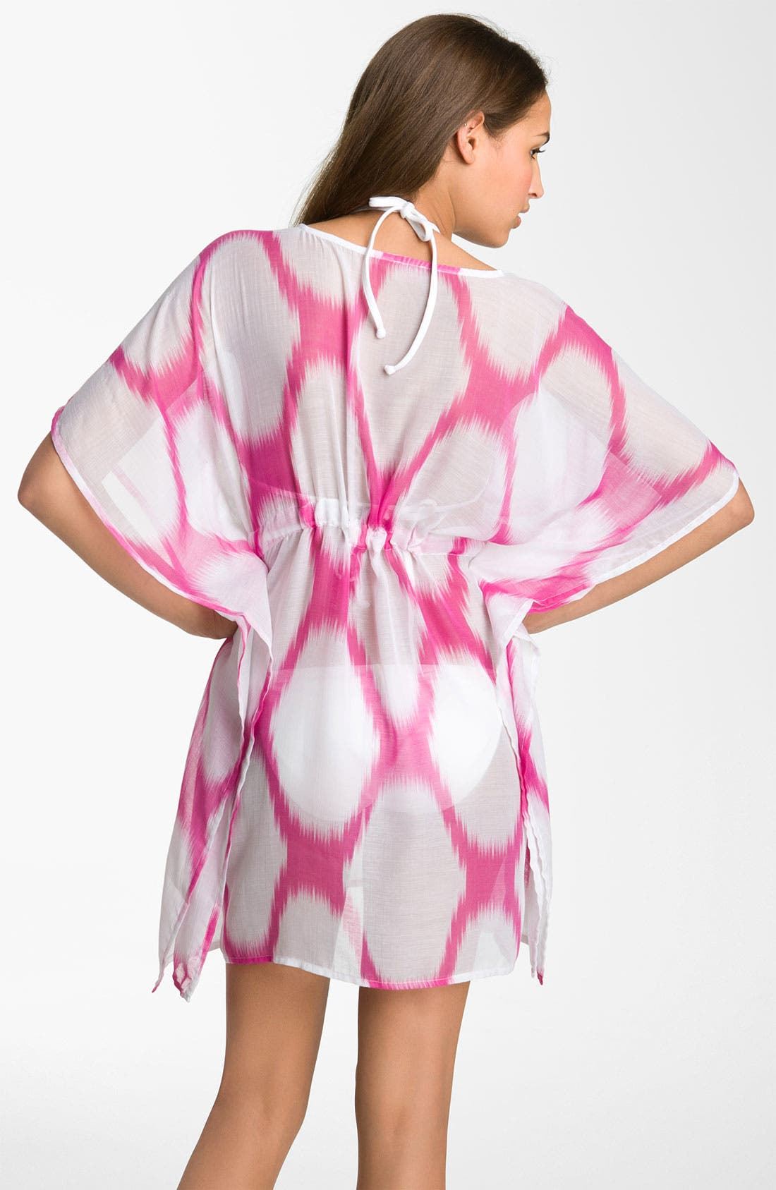 Alternate Image 2  - Echo 'Bright Ikat' Butterfly Cover-Up Dress