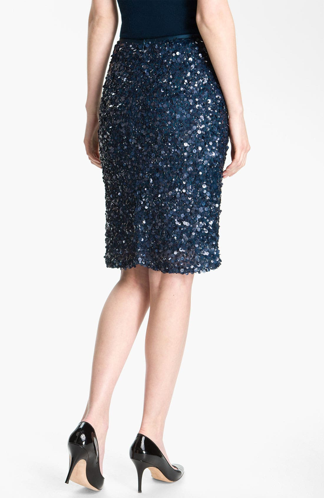 Alternate Image 3  - St. John Collection Sequin Pencil Skirt