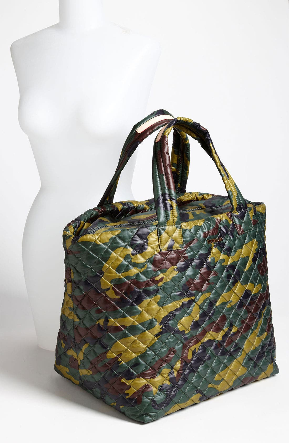 Large Metro Tote,                             Alternate thumbnail 2, color,                             Quilted Camo Oxford Nylon