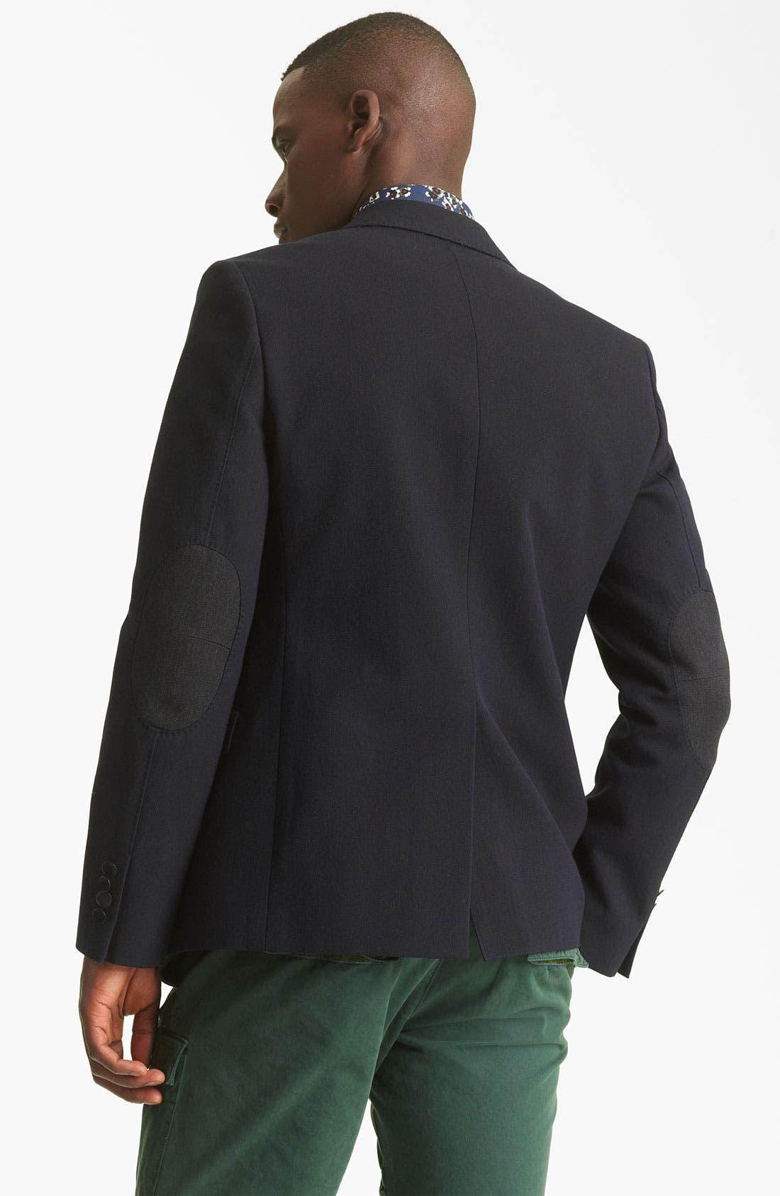 Alternate Image 2  - KENZO Wool Blend Blazer