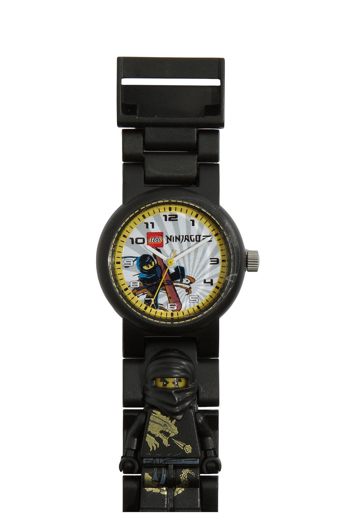 Alternate Image 1 Selected - LEGO® 'Ninjago' Watch & Toy (Boys)