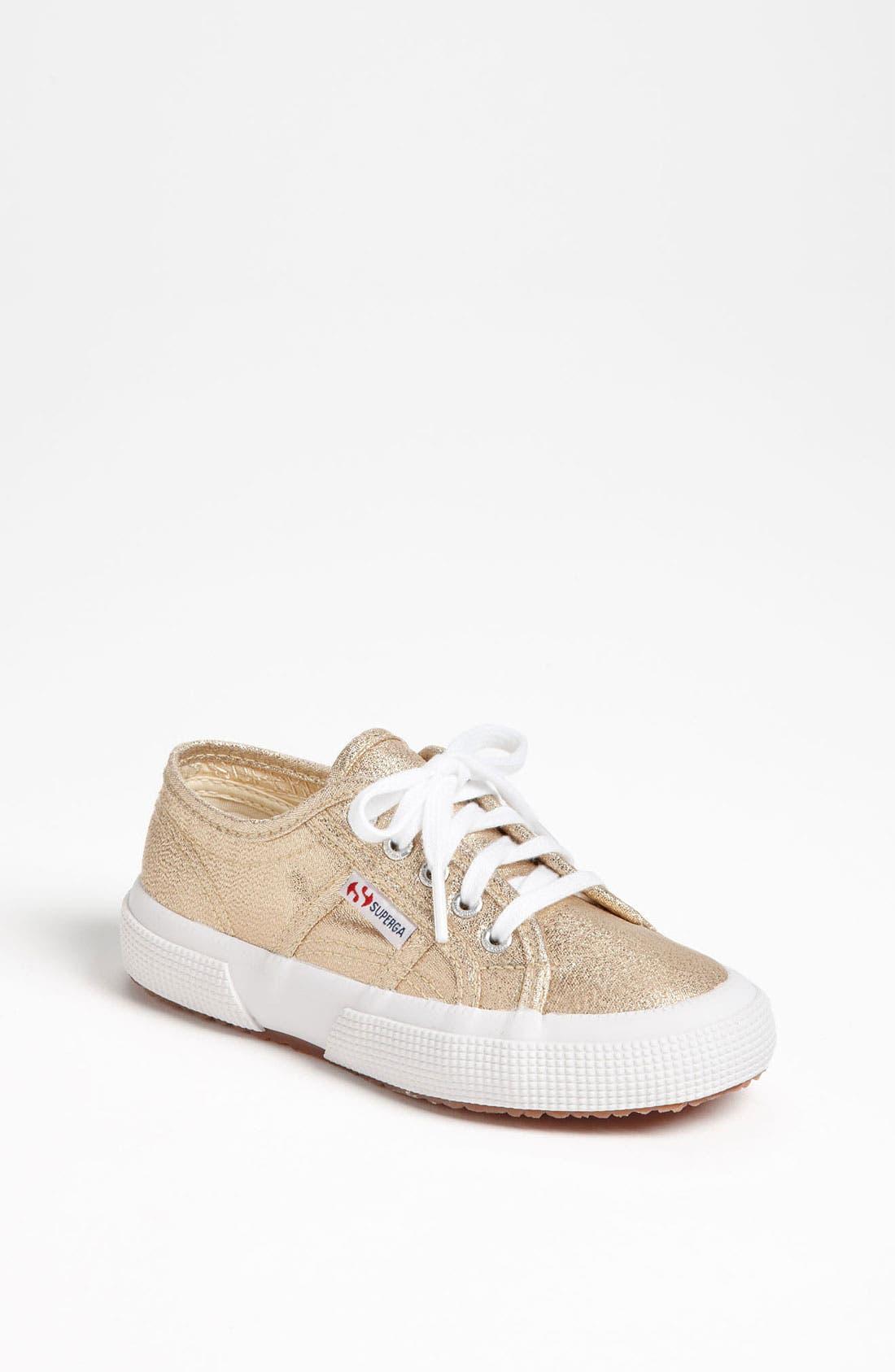 Alternate Image 1 Selected - Superga 'Classic Glitter' Sneaker (Walker, Toddler & Little Kid)