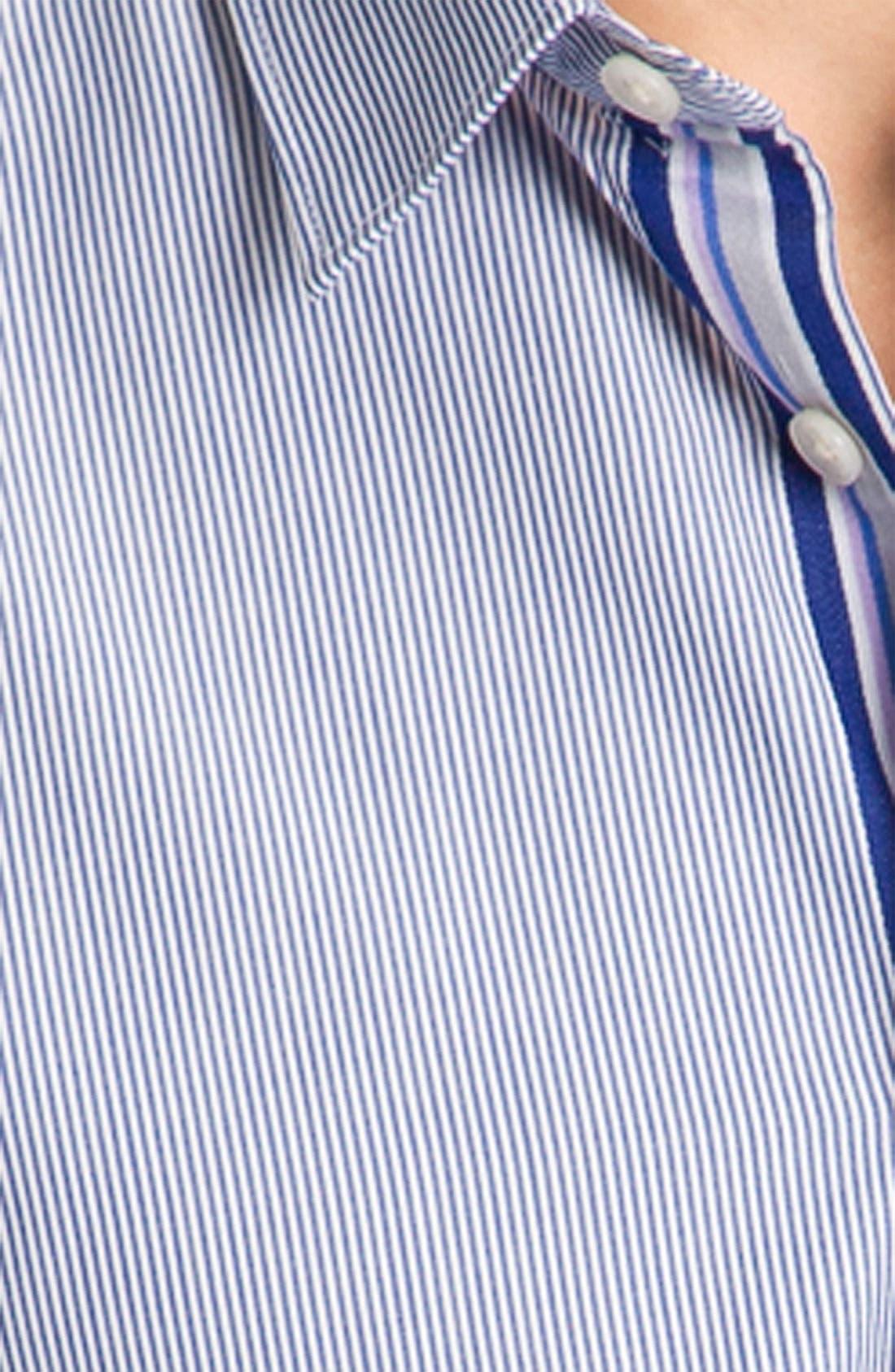 Alternate Image 3  - Ben Sherman Stripe Woven Shirt