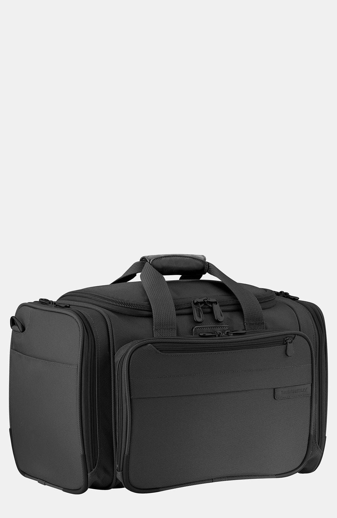 'Baseline - Deluxe' Duffel Bag,                             Main thumbnail 1, color,                             Black