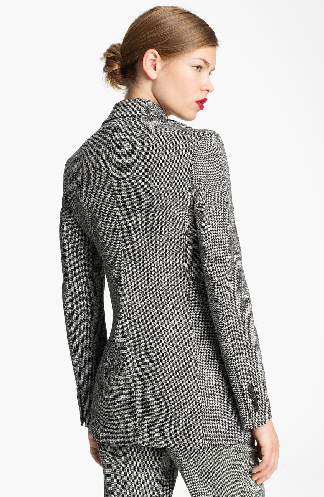 Alternate Image 2  - Michael Kors Donegal Tweed Blazer