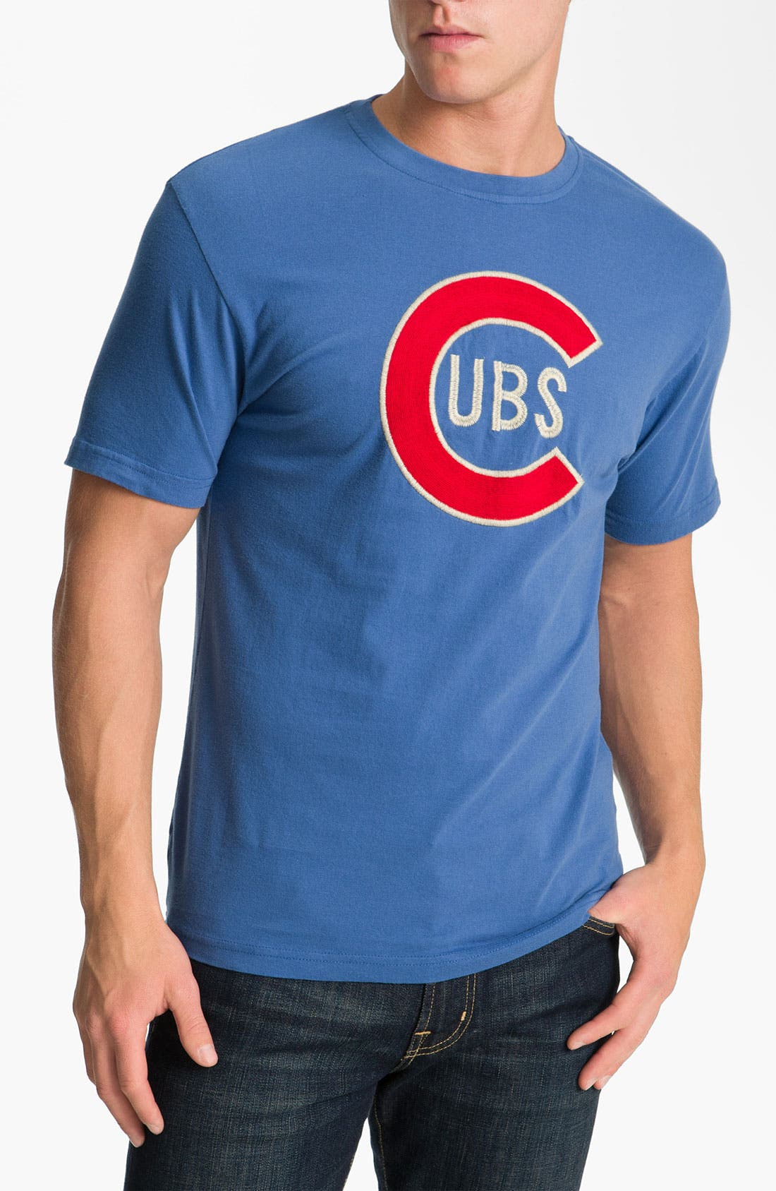 Main Image - Red Jacket 'Cubs - Letterman' T-Shirt