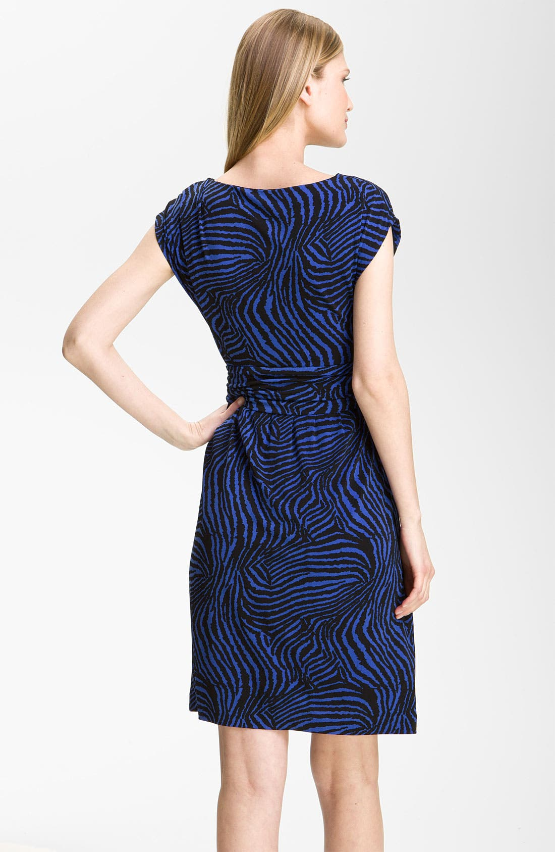 Alternate Image 2  - Chaus Zebra Print Dress