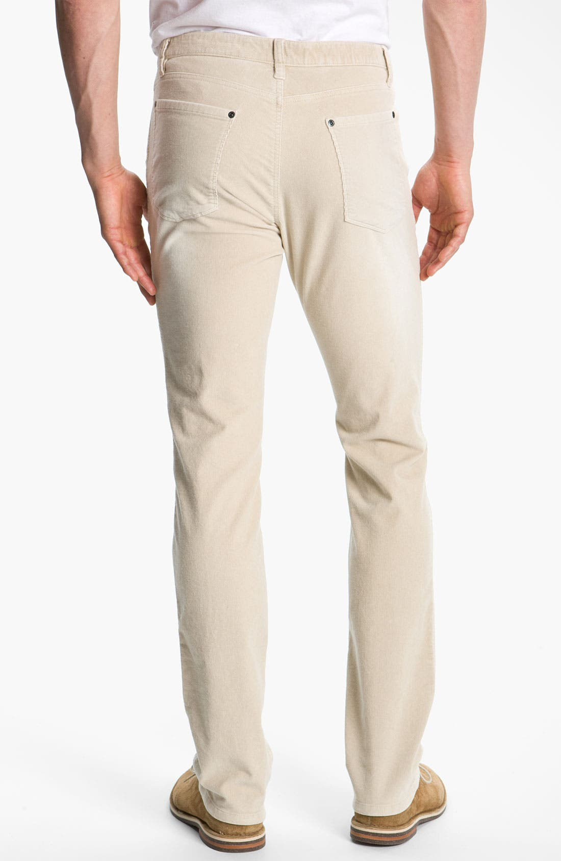 Alternate Image 2  - Cutter & Buck 'Denny' Washed Corduroy Pants