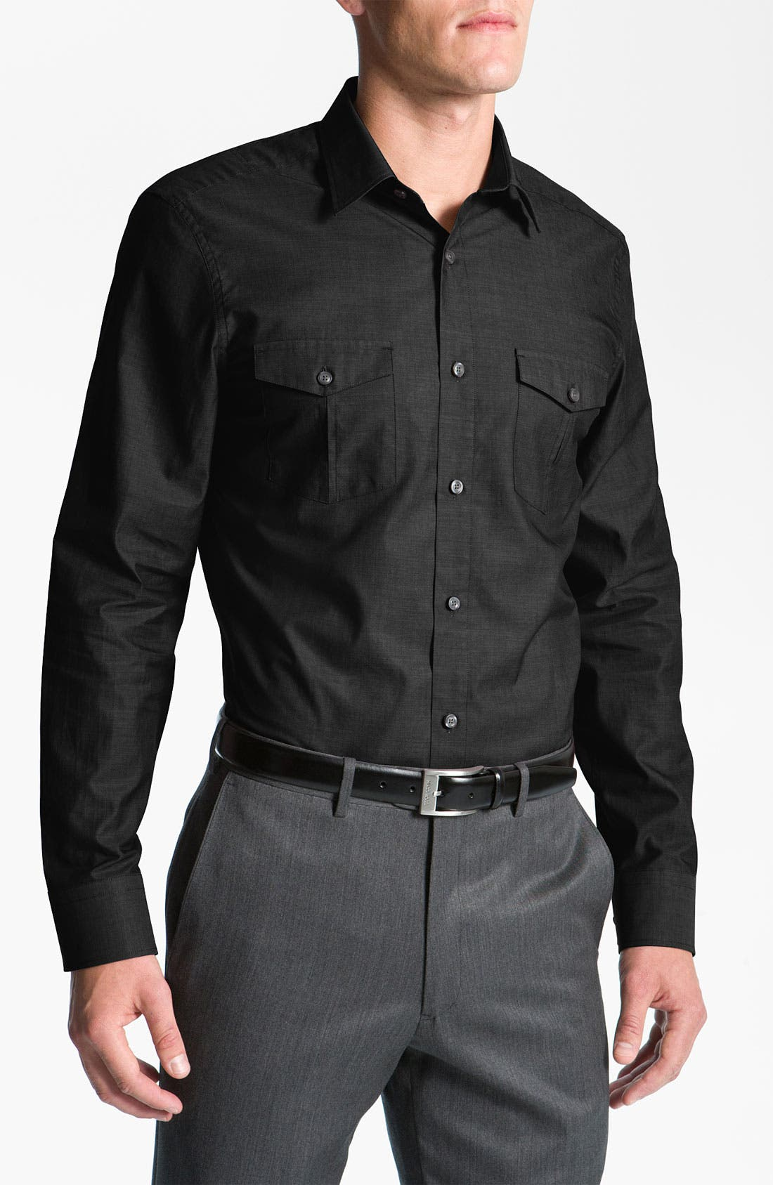 Alternate Image 1 Selected - Calibrate 'Military' Sport Shirt