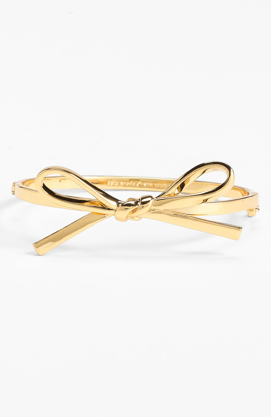 Alternate Image 1 Selected - kate spade new york 'skinny mini' bow bangle