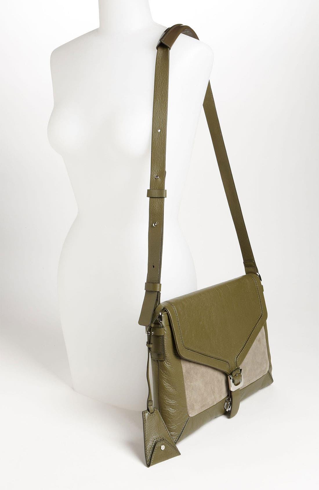 Alternate Image 2  - Diane von Furstenberg 'Drew - Connect' Leather Shoulder Bag