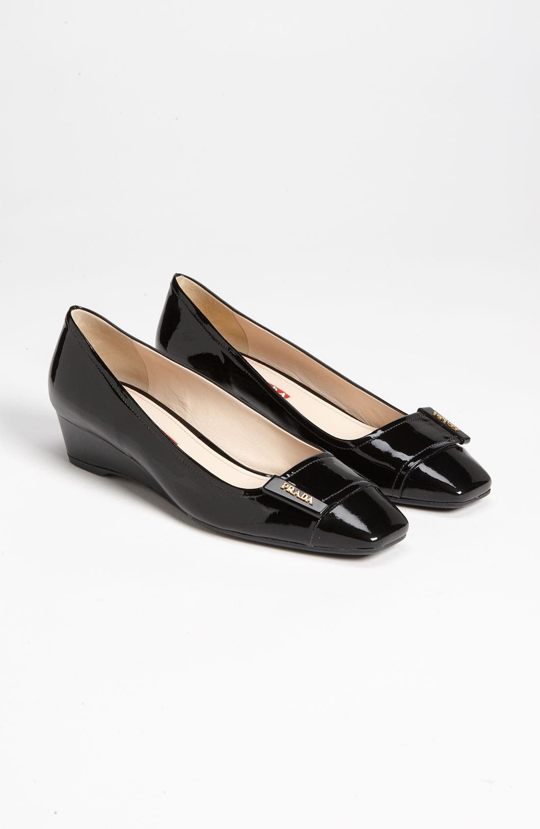 Alternate Image 4  - Prada Buckle Wedge Pump