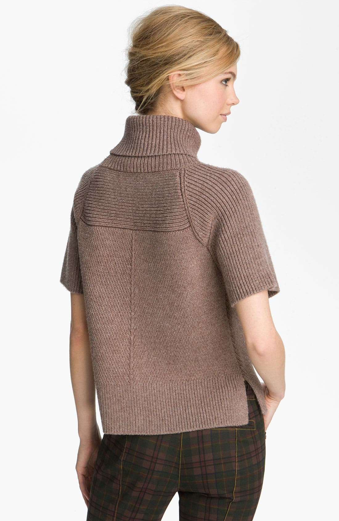 Alternate Image 2  - Derek Lam 10 Crosby Mixed Rib Turtleneck Sweater
