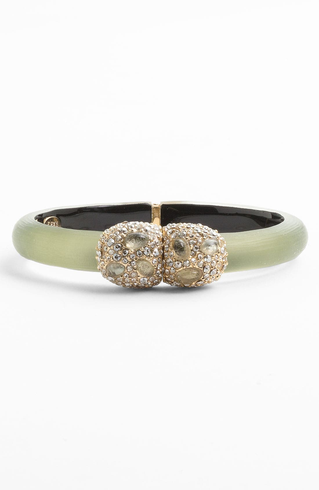 Main Image - Alexis Bittar 'Modular' Small Pebble Clasp Hinged Bracelet