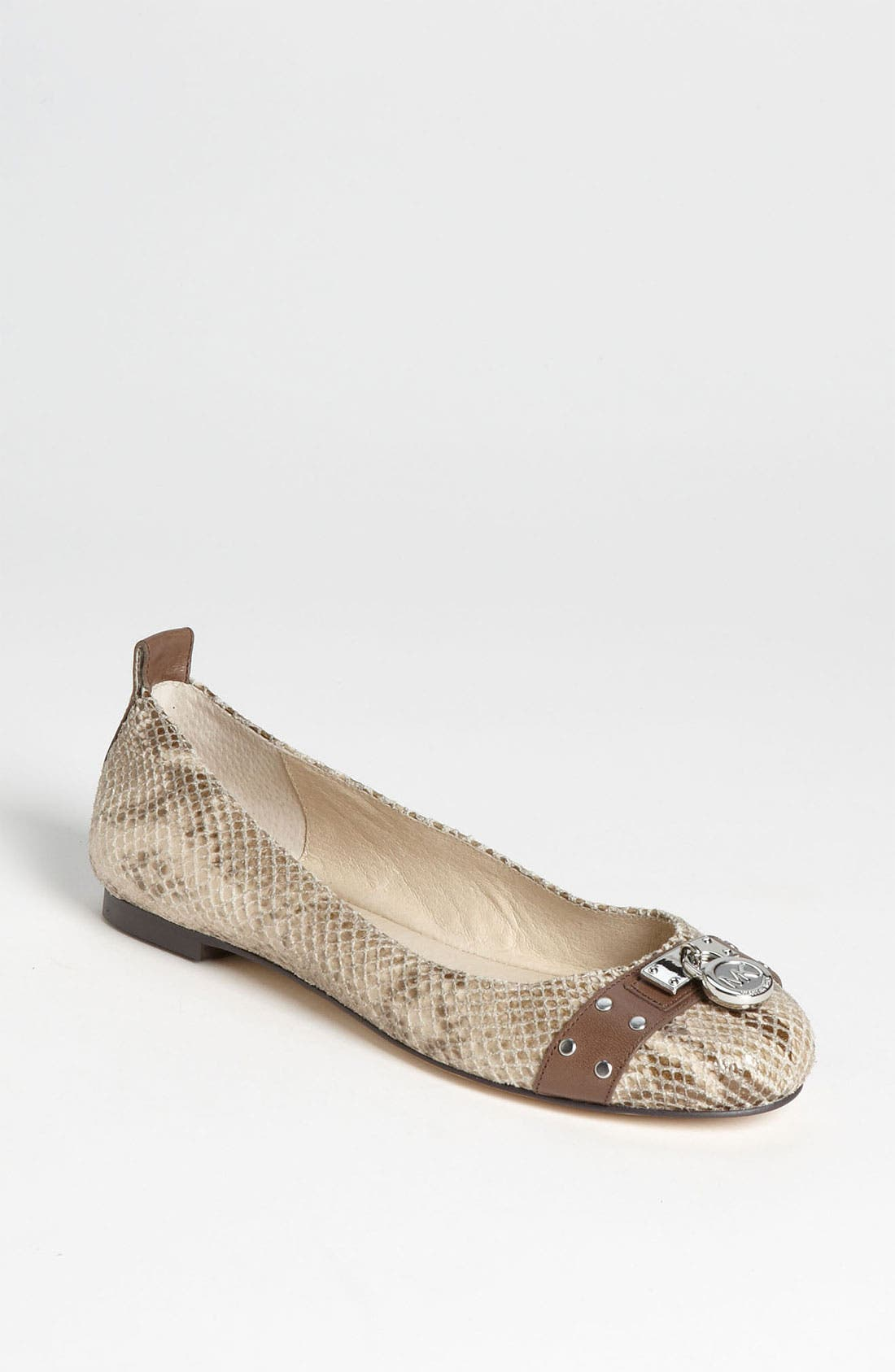 Alternate Image 1 Selected - MICHAEL Michael Kors 'Hamilton' Studded Ballet Flat