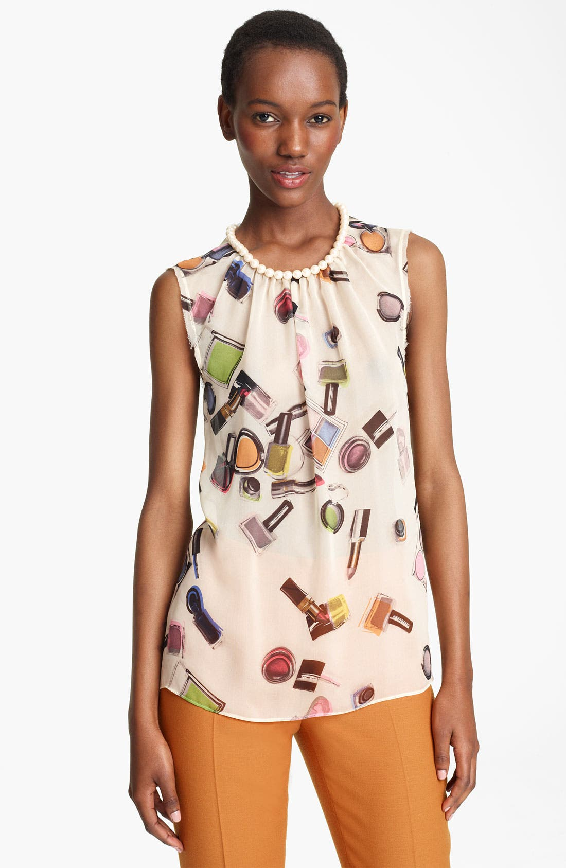 Alternate Image 1 Selected - Moschino Cheap & Chic Print Blouse