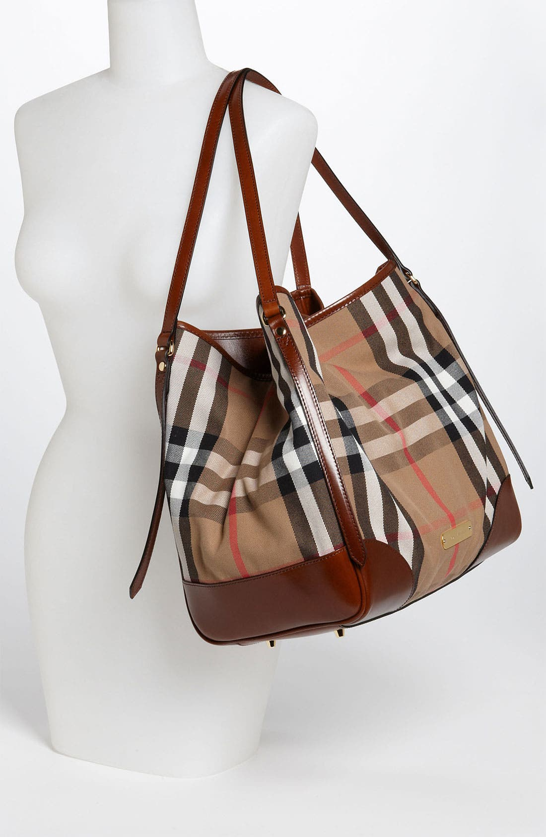 Alternate Image 2  - Burberry 'House Check - Medium' Over Shoulder Tote
