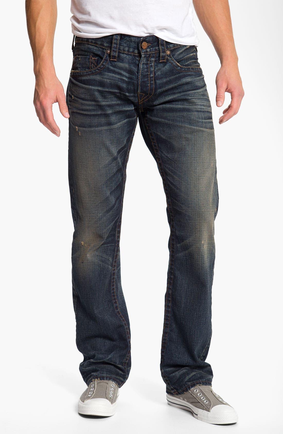 Alternate Image 2  - True Religion Brand Jeans 'Bobby' Straight Leg Jeans (Snyper)