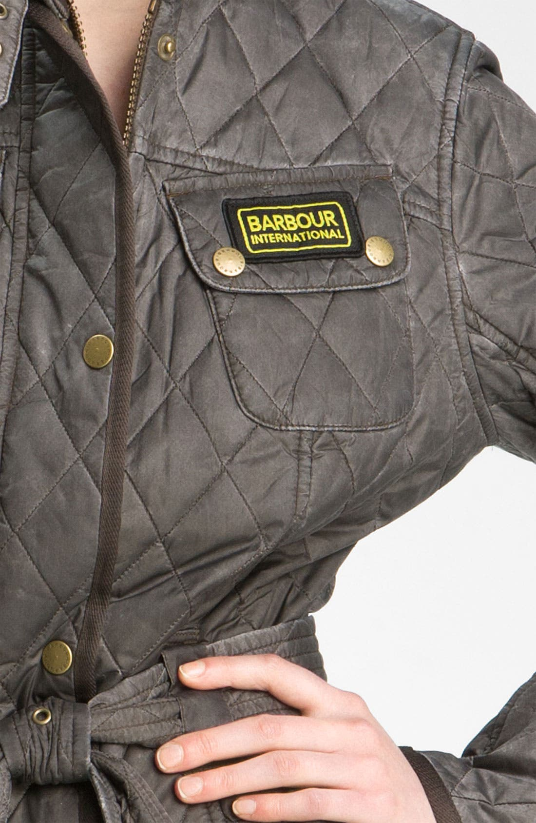 Alternate Image 3  - Barbour 'Heritage International' Quilted Jacket (Online Exclusive)
