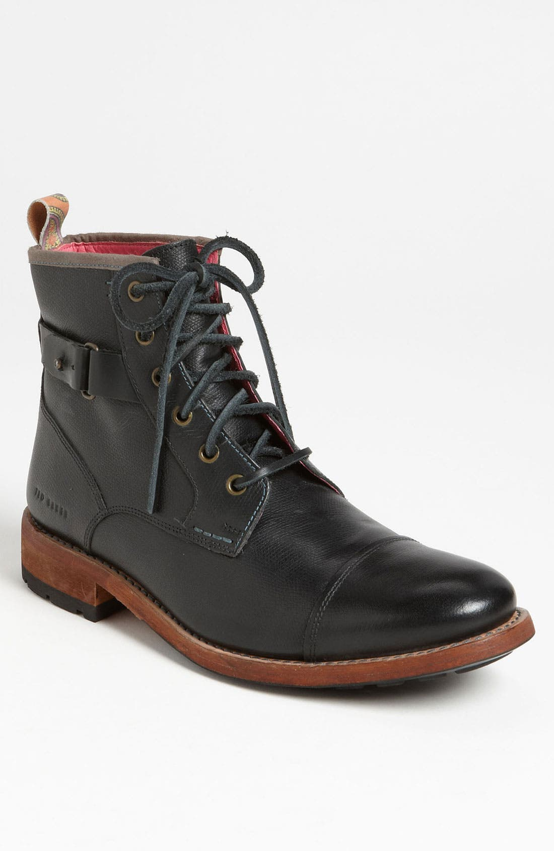 Alternate Image 1 Selected - Ted Baker London 'Mukki 2' Cap Toe Boot