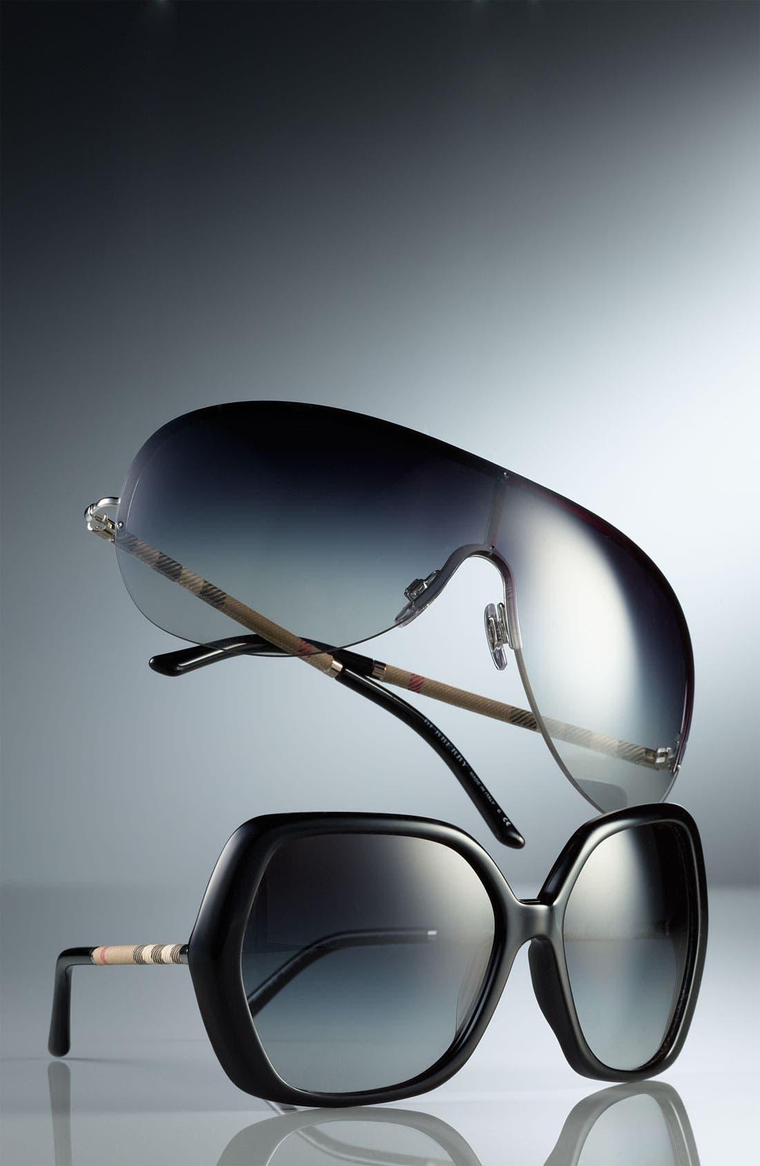 Alternate Image 3  - Burberry Shield Sunglasses