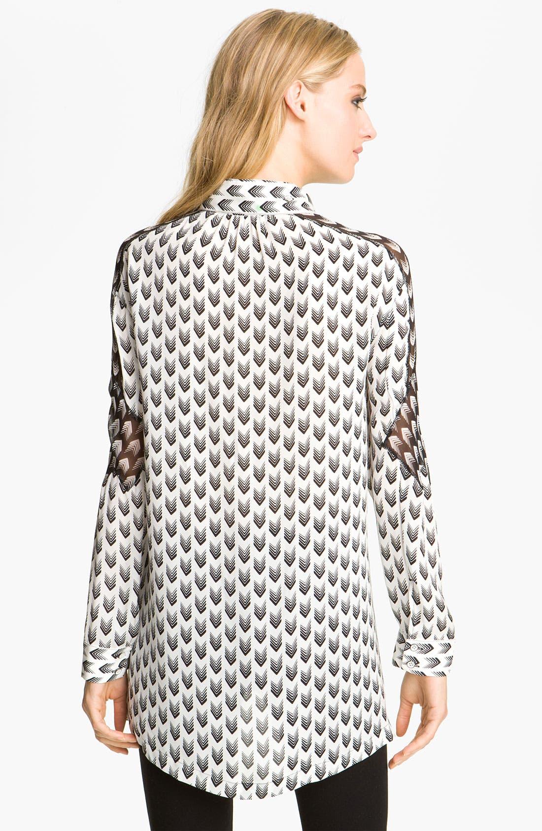 Alternate Image 2  - rag & bone 'Gayatri Arrow' Print Shirt
