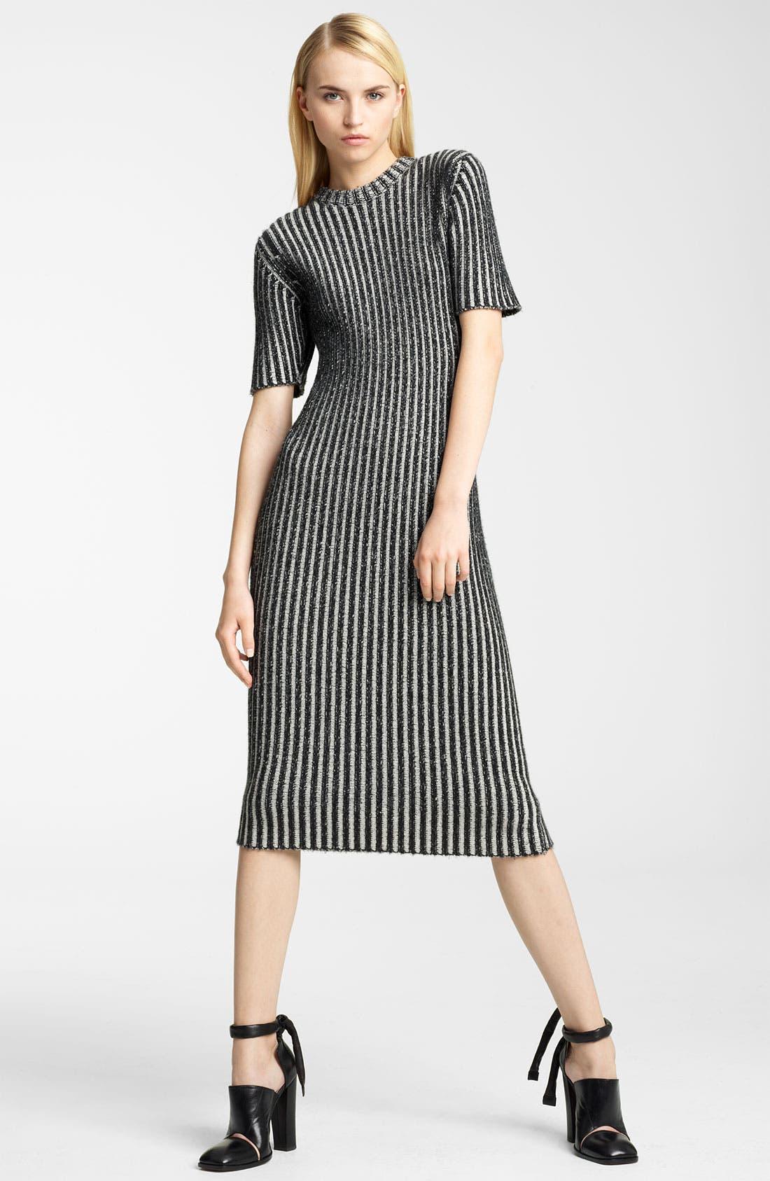 Alternate Image 1 Selected - Christopher Kane Ribbed Cashmere Dress