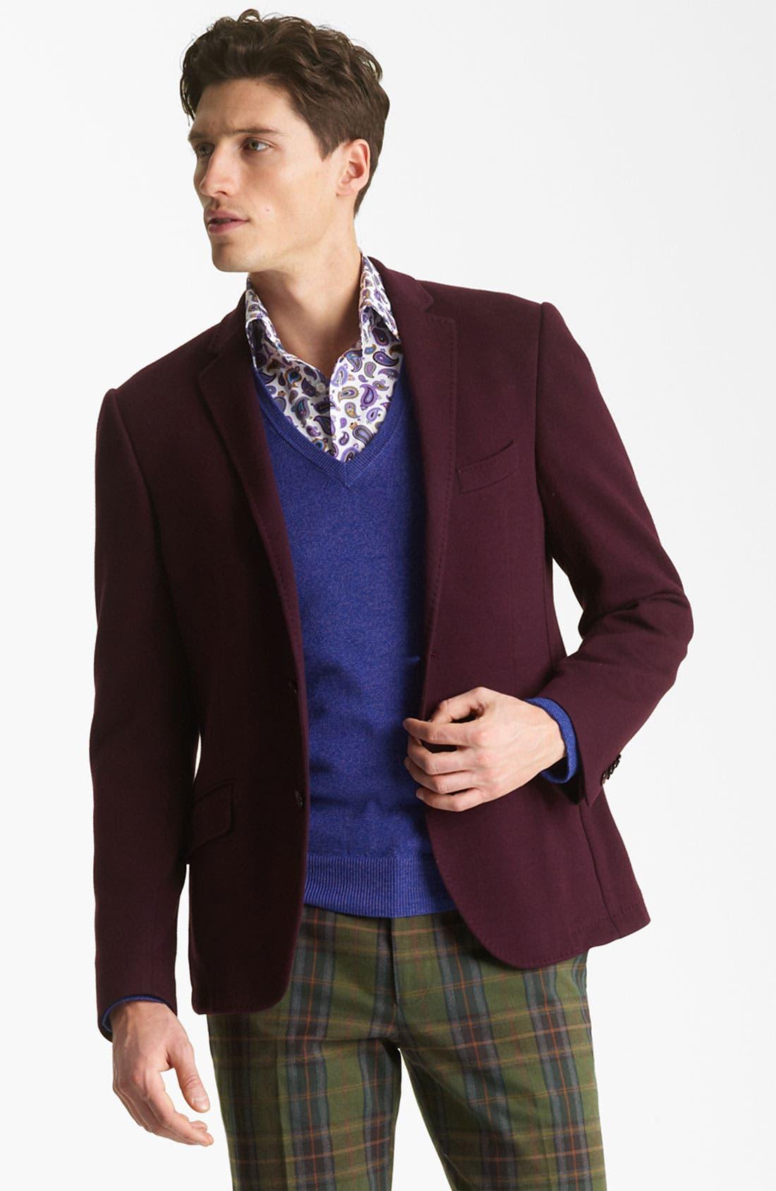 Alternate Image 1 Selected - Etro Cotton Blazer