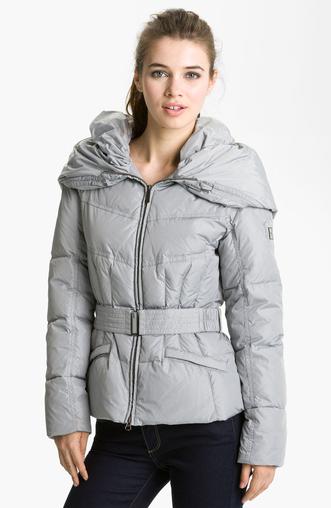Main Image - Add Down Hooded Down Jacket