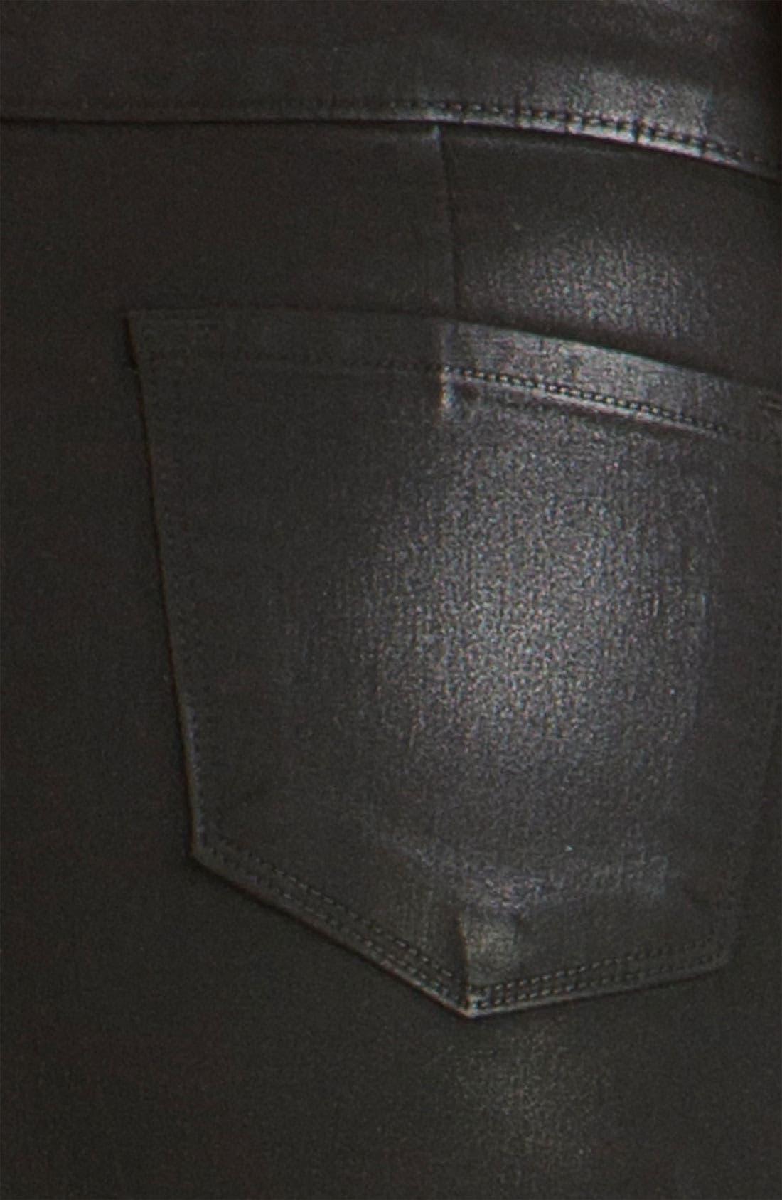 Alternate Image 3  - J Brand 'Nikko' Coated Denim Skirt