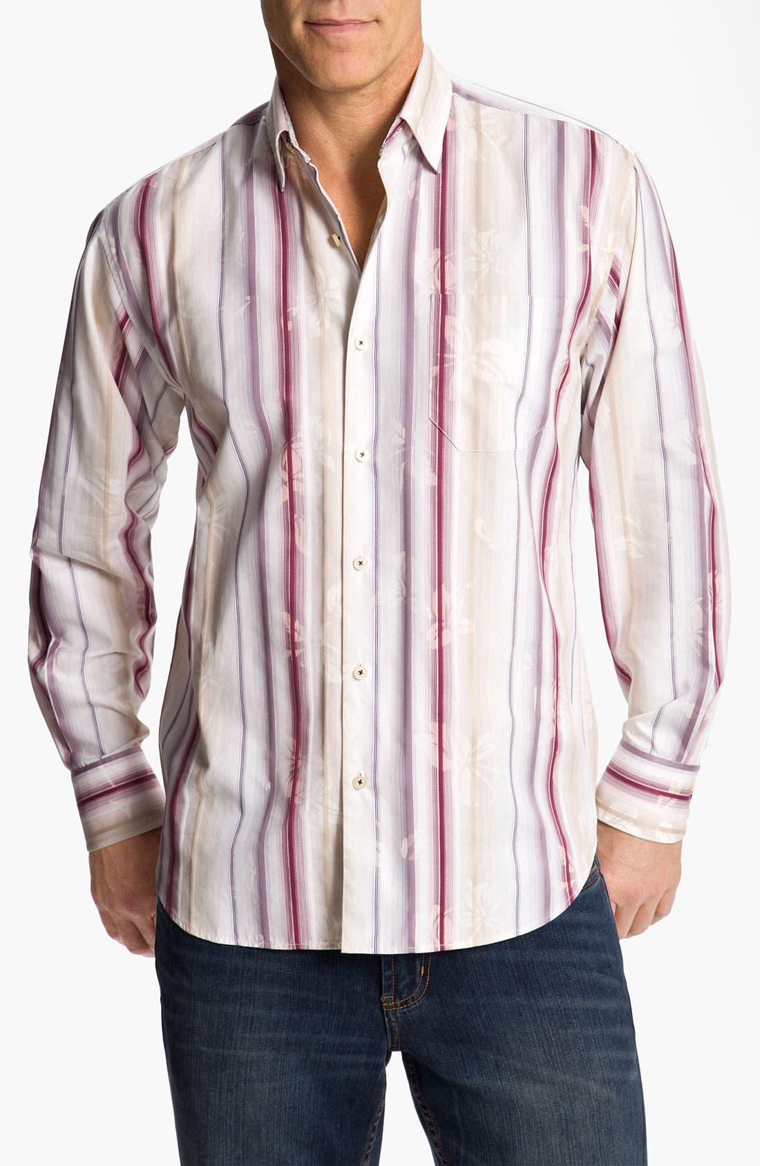 Main Image - Tommy Bahama 'Fleur de Soleil' Sport Shirt