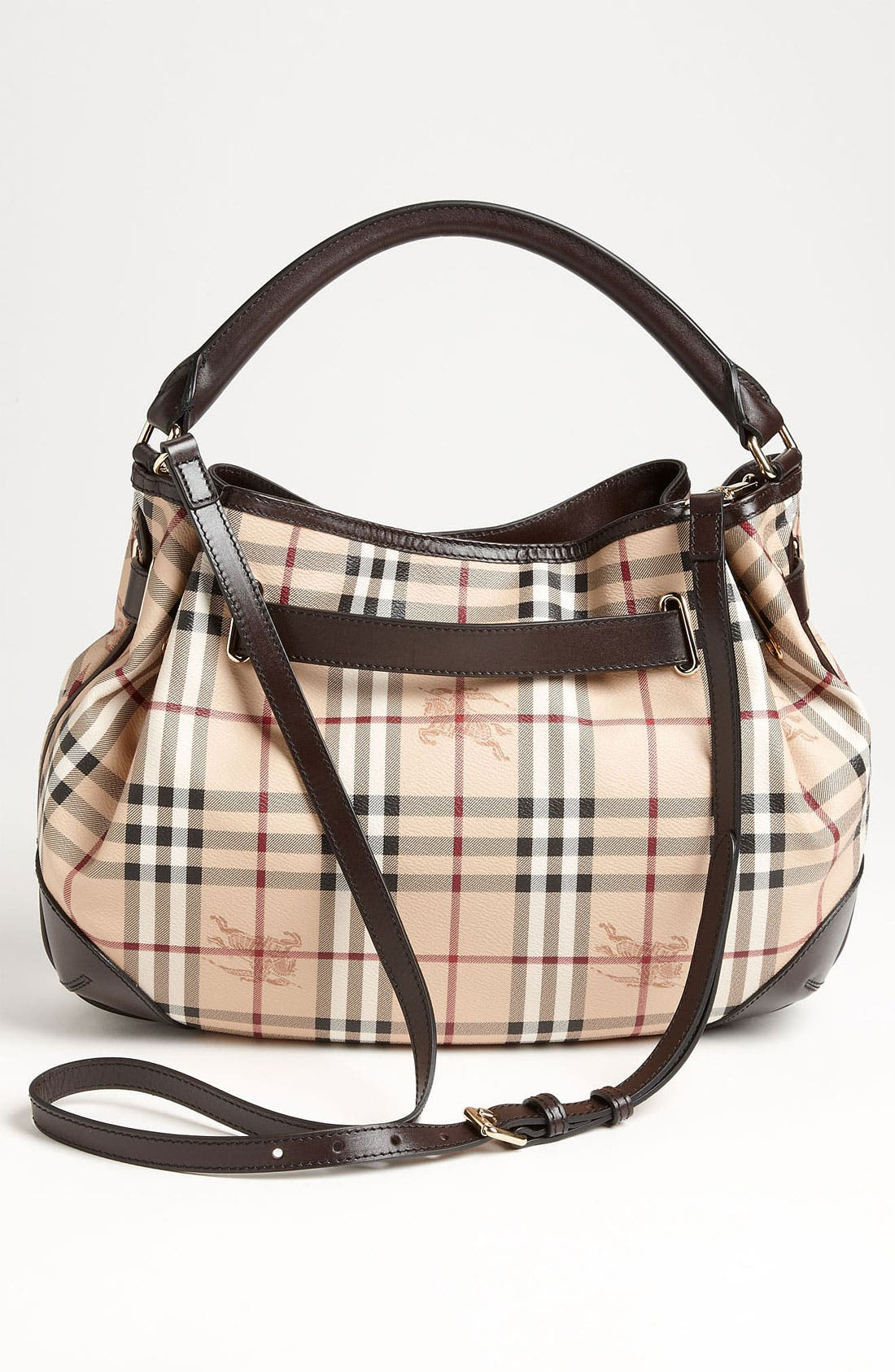 Alternate Image 4  - Burberry 'Haymarket Check' Hobo