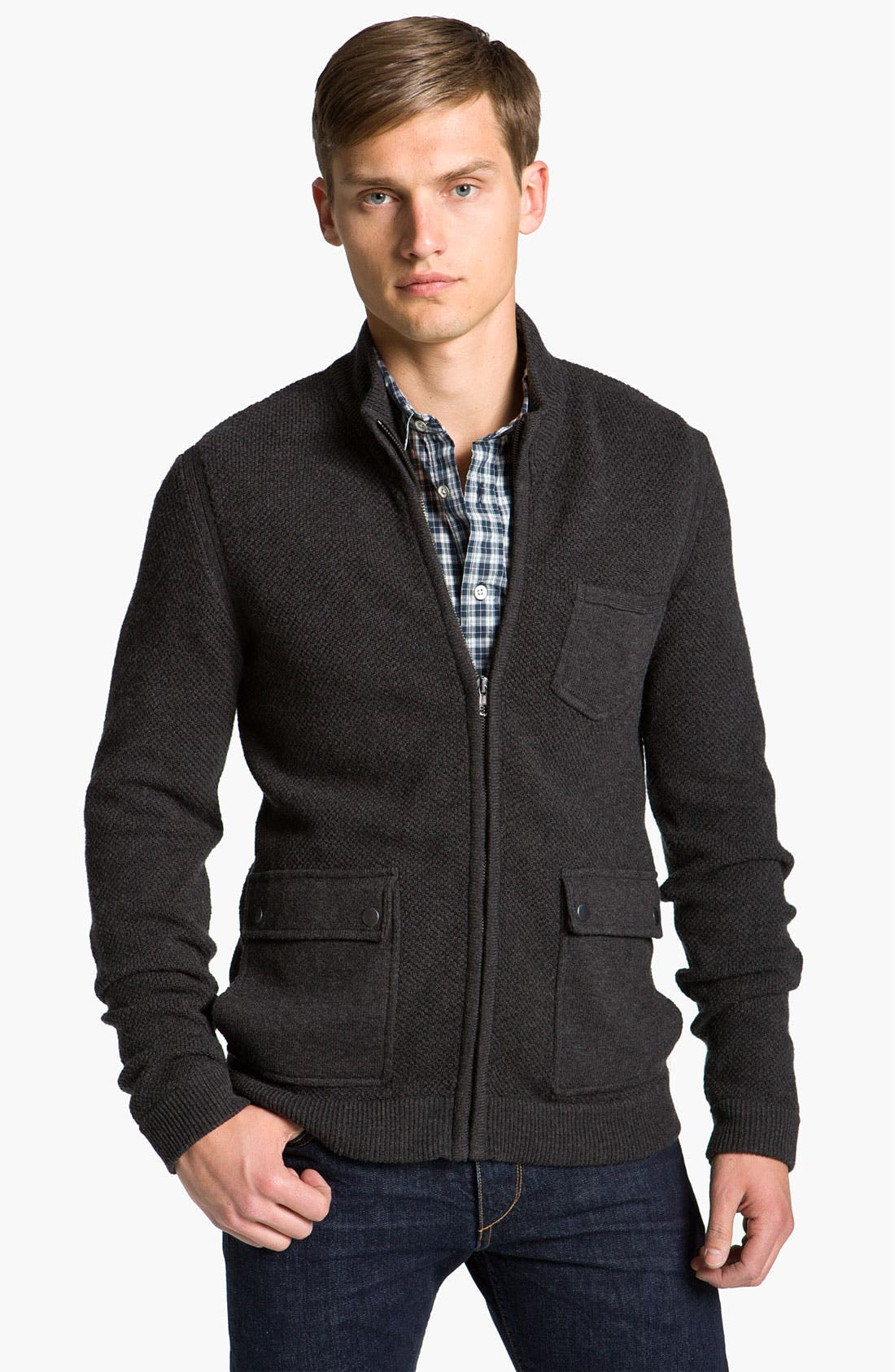 Alternate Image 1 Selected - rag & bone 'Alps' Knit Jacket