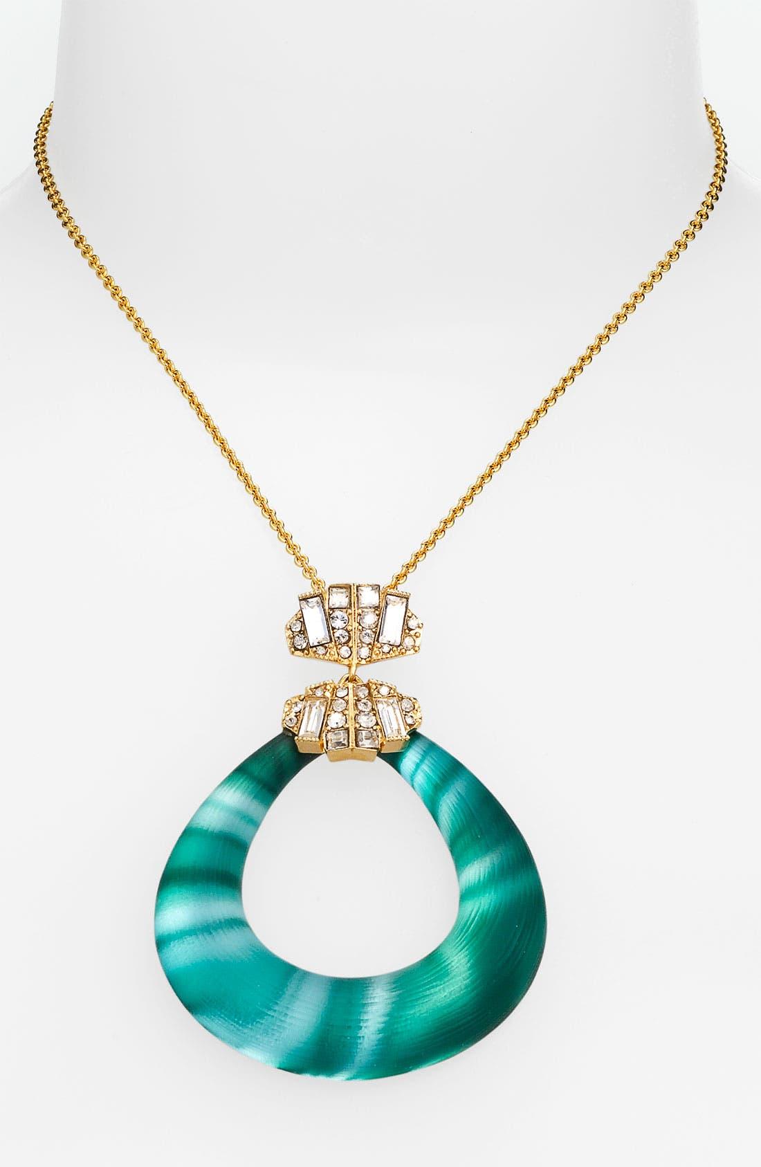 Alternate Image 1 Selected - Alexis Bittar 'Teatro Moderne' Link Pendant Necklace