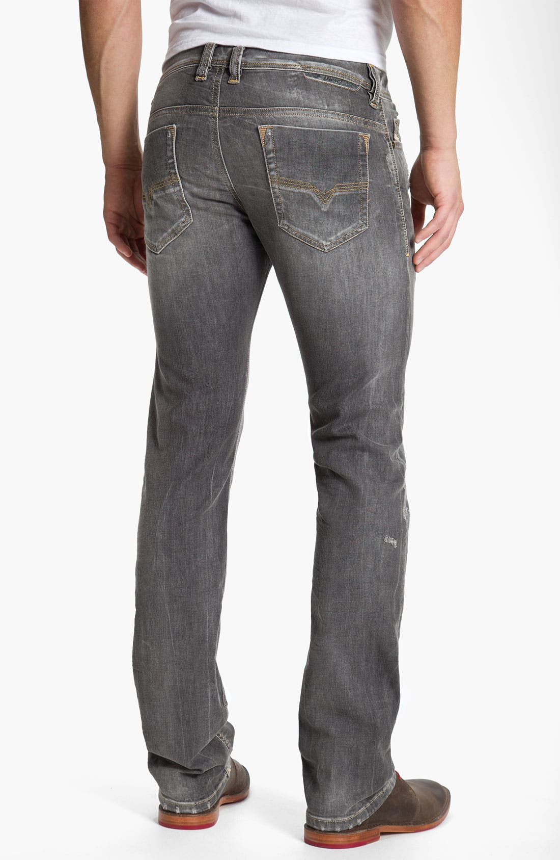 Alternate Image 1 Selected - DIESEL® 'Safado' Straight Leg Jeans (0801I)