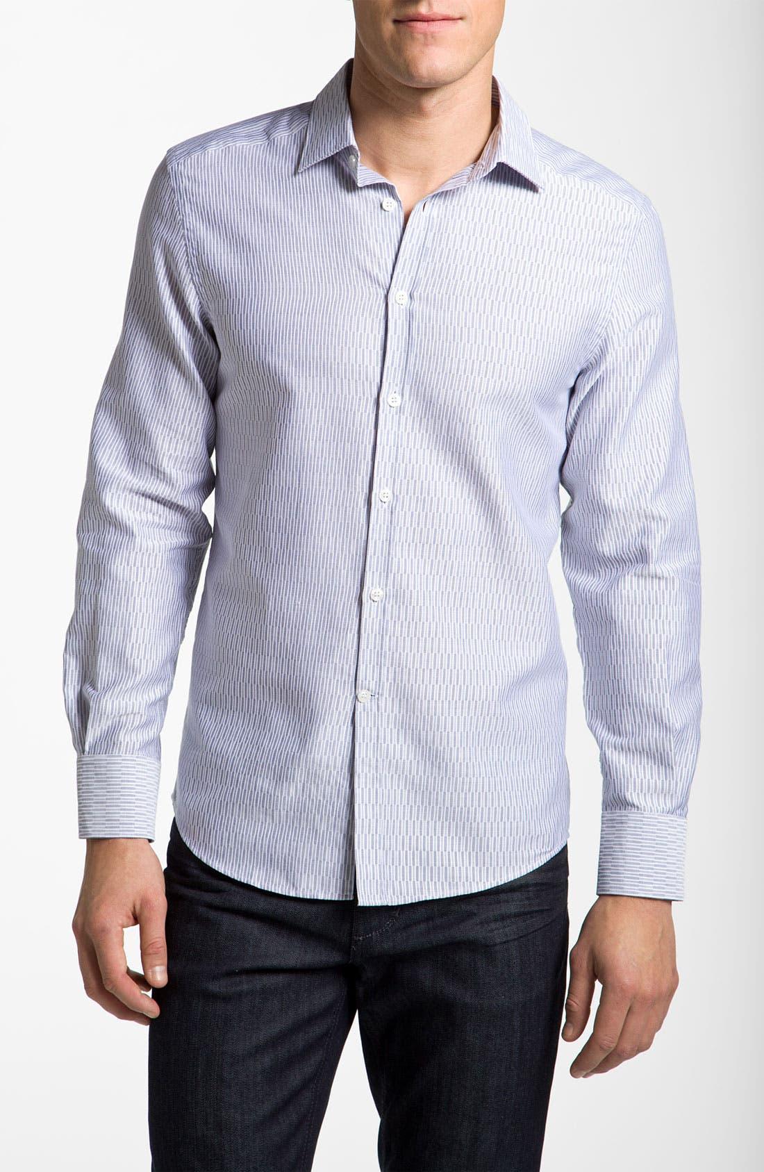 Main Image - Versace Woven Sport Shirt