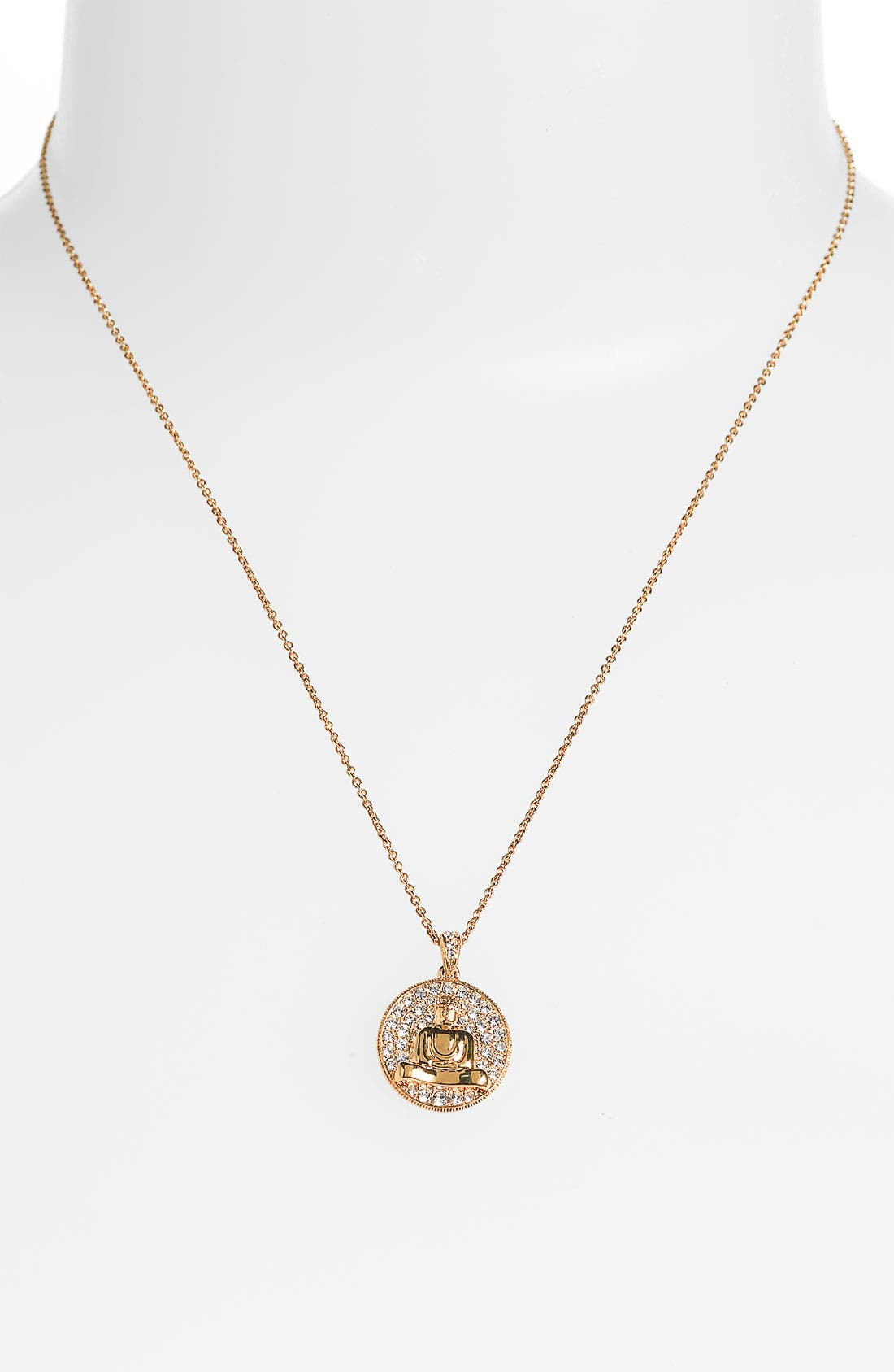Alternate Image 2  - Nadri 'Buddha' Pendant Necklace (Nordstrom Exclusive)
