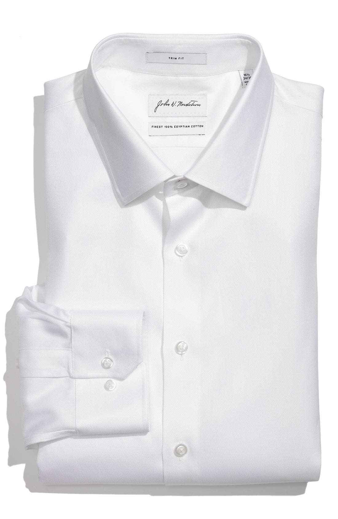 Main Image - John W. Nordstrom® Trim Fit Dress Shirt