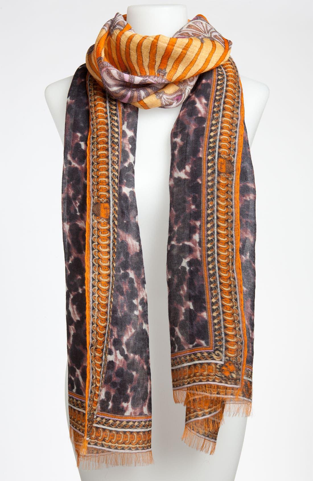 Alternate Image 1 Selected - Emilio Pucci 'Porticato' Cashmere Blend Scarf