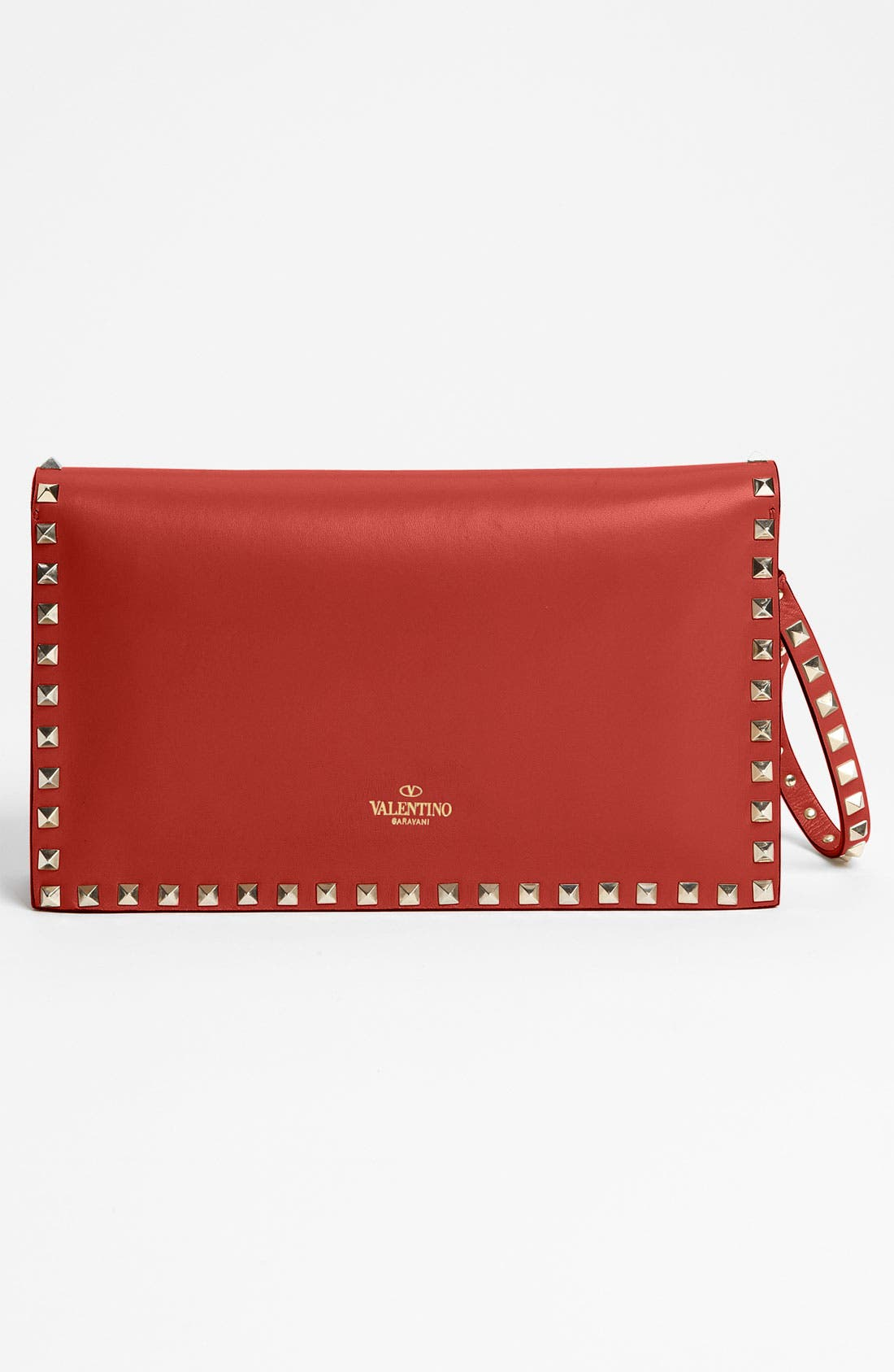 Alternate Image 4  - Valentino 'Rockstud' Leather Clutch