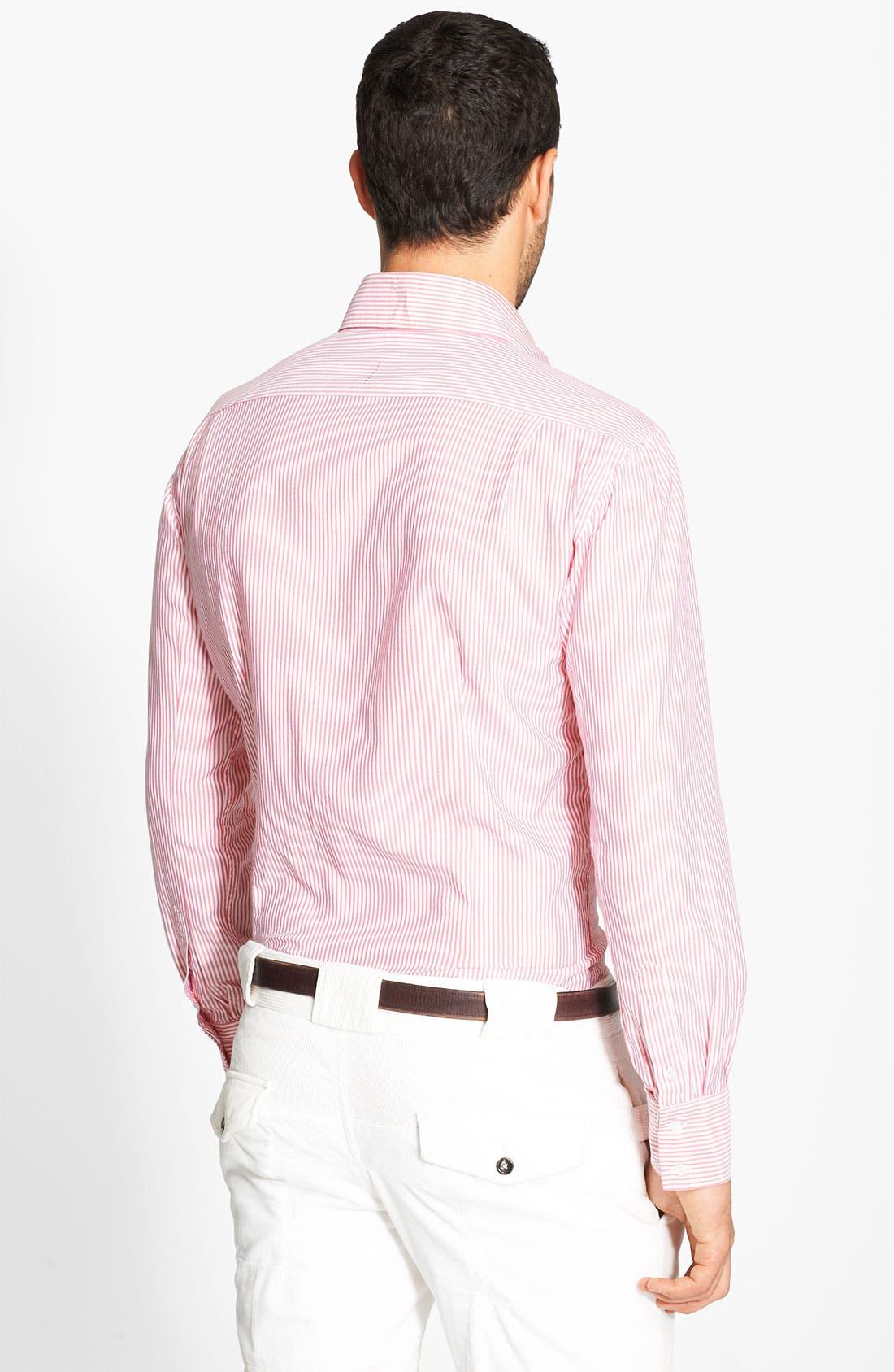 Alternate Image 2  - Michael Bastian Stripe Shirt