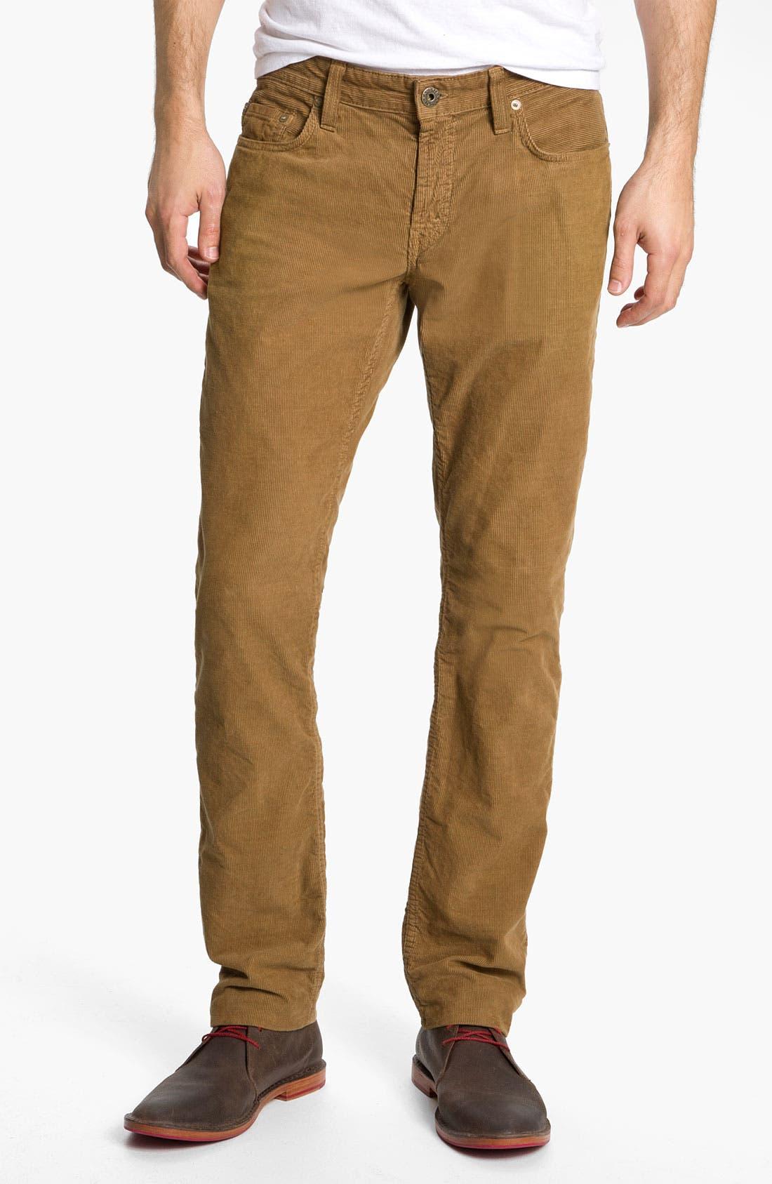 Alternate Image 2  - J Brand 'Kane' Slim Straight Leg Corduroy Pants