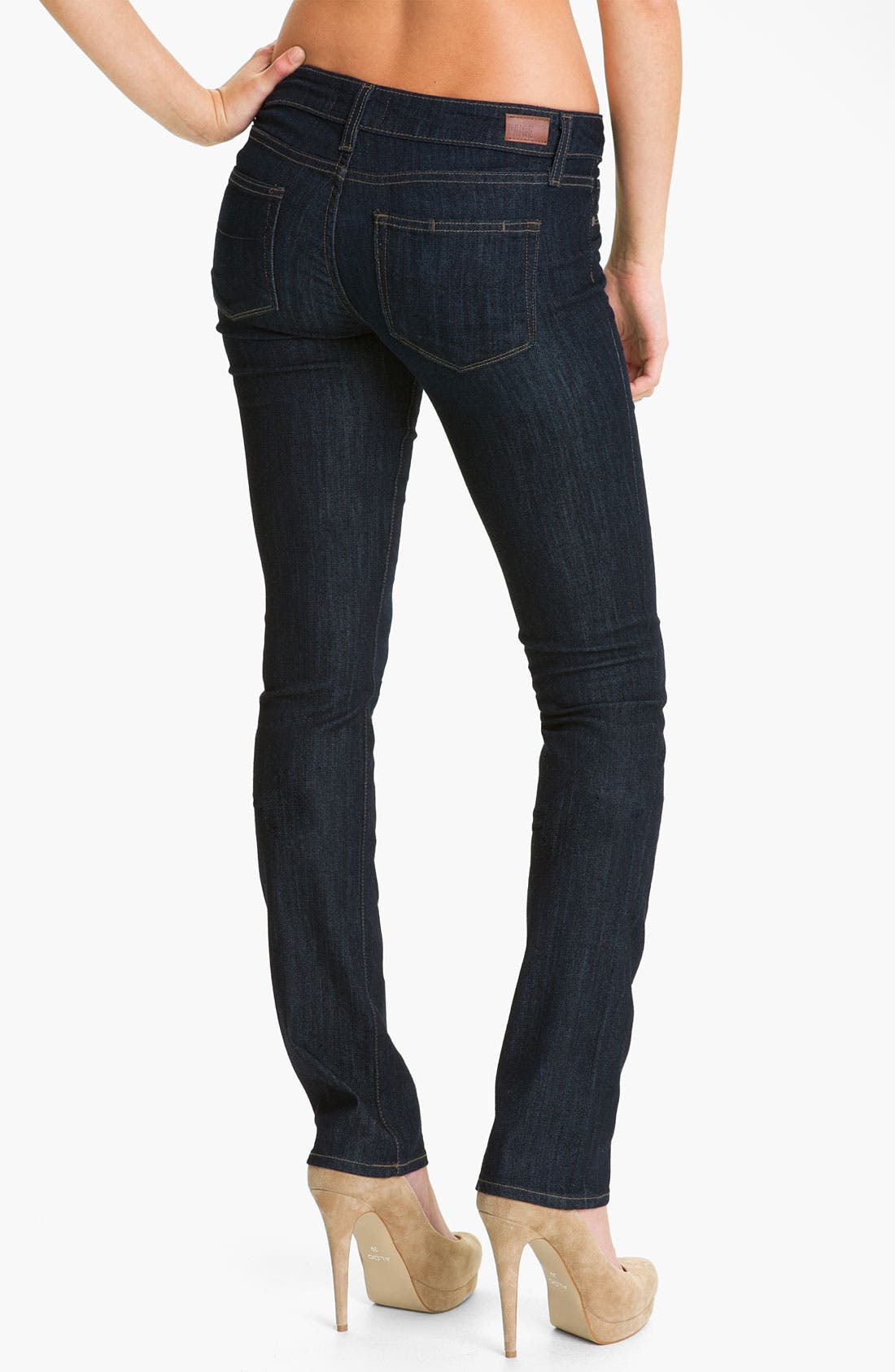 Alternate Image 2  - Paige Denim 'Skyline' Straight Leg Stretch Jeans (Dream)