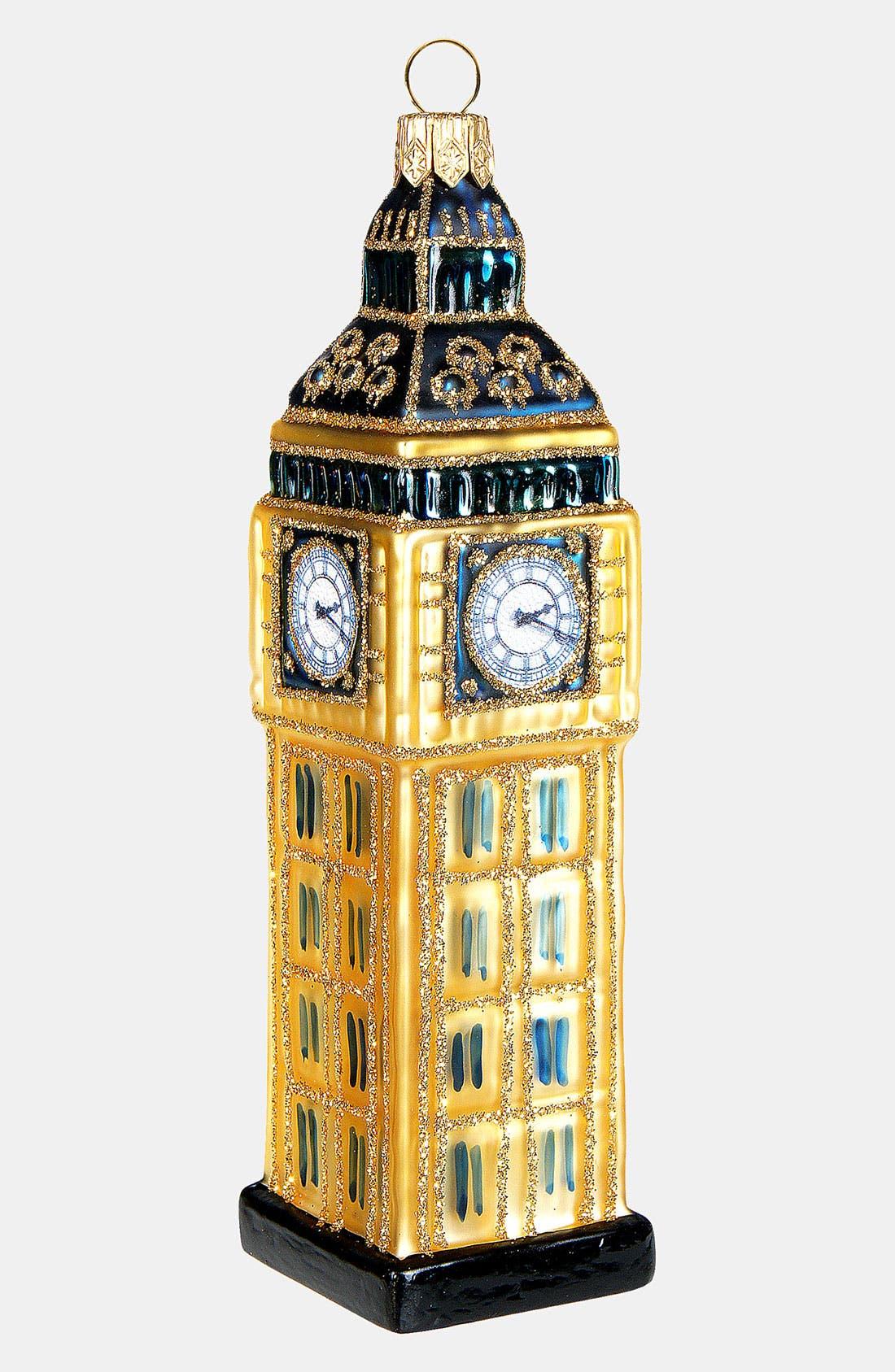 Main Image - Nordstrom at Home 'Big Ben' Glass Ornament
