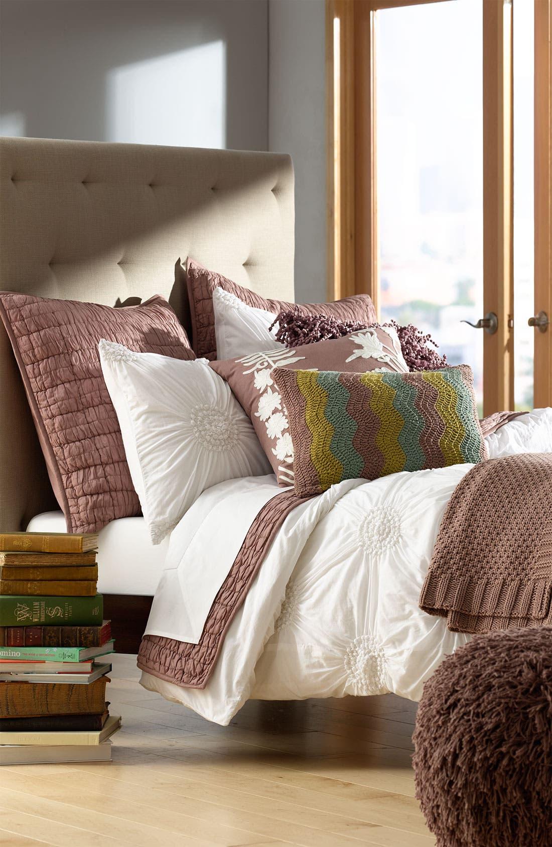 Alternate Image 2  - Nordstrom at Home 'Ric Rac' Crochet Pillow