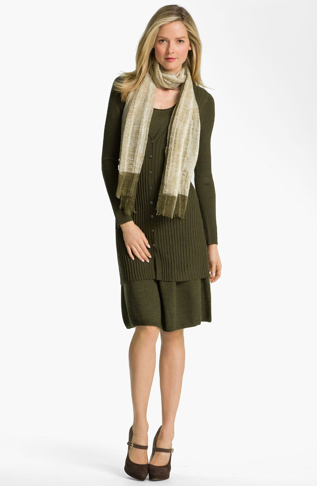 Alternate Image 4  - Eileen Fisher Fine Merino Jersey A-Line Skirt