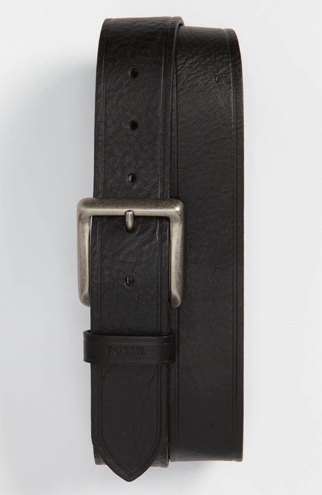 Main Image - Fossil 'Maxim' Leather Belt